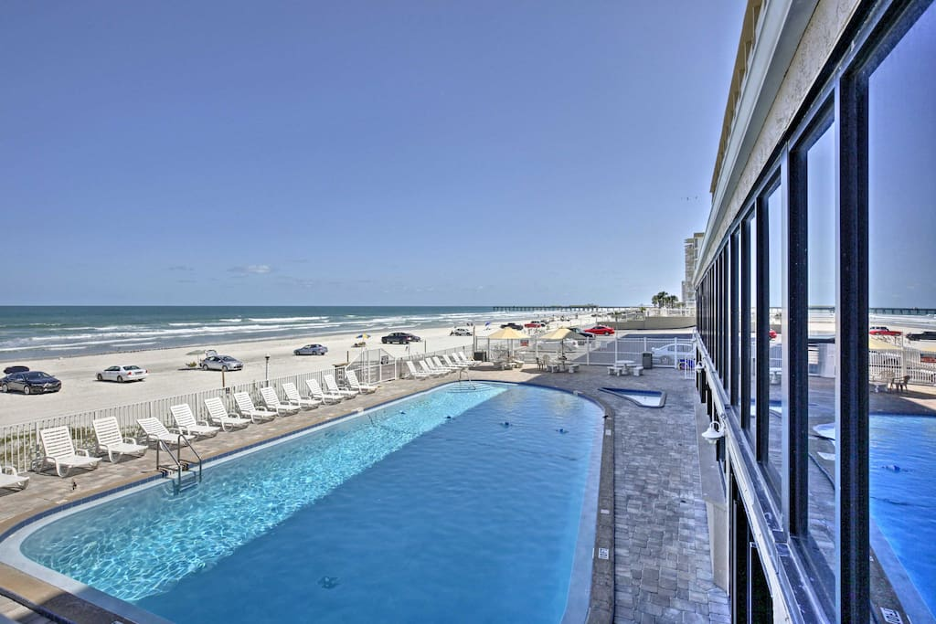 You'll enjoy immediate access to the community pool and beach.