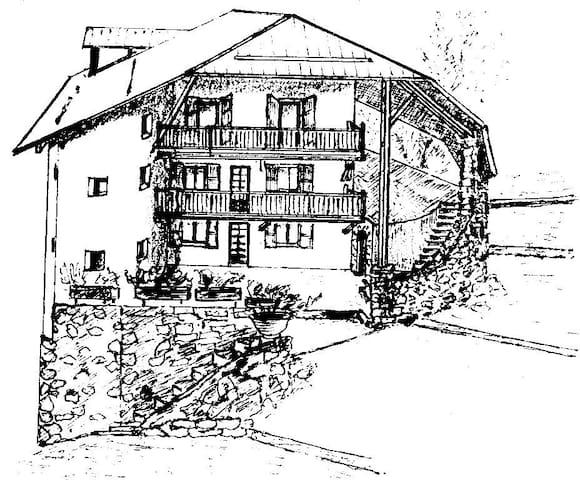 Chambre d'hôtes - Mont-Dauphin - Huis