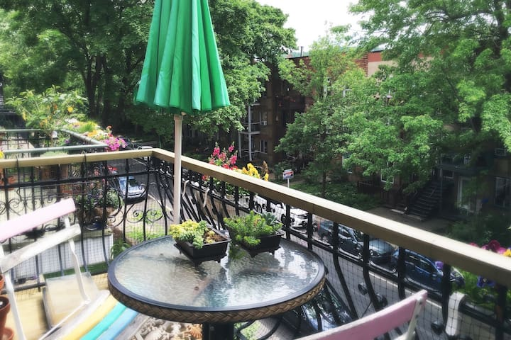 Spacious 2 bedroom appartment in Outremont - Montreal - Departamento