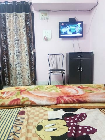 Air conditioned  Apartment at Airoli