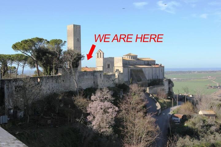 Fantastic Apt in Medieval Tarquinia - Tarquinia - Huoneisto