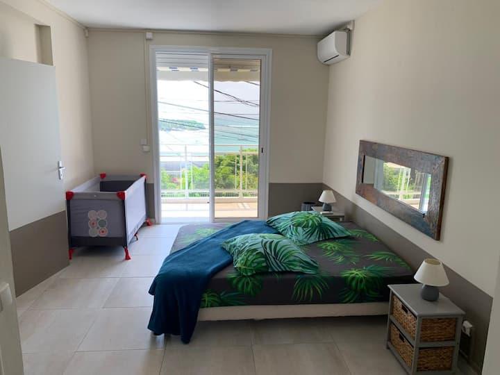 Appartement Sik à Coco face à l'îlet Gosier