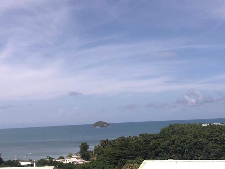 T2 proche des commodités avec une belle vue mer