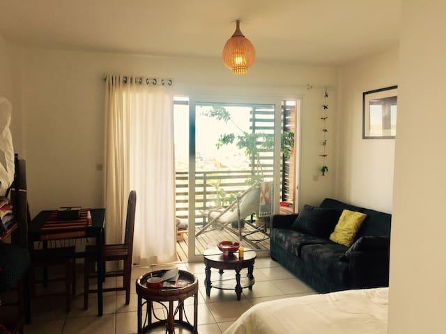 Amazing viewpoint and sunny studio - Antananarivo - Condominium