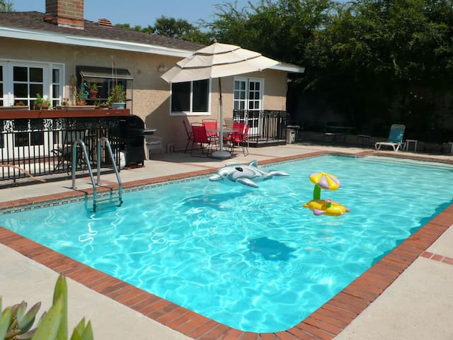 Fun 4 Bedrm Home W Pool Near Disneyland Casas En Alquiler En La Mirada California Estados Unidos