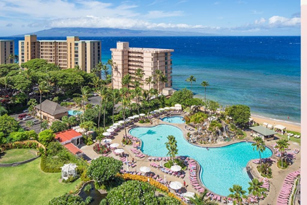 2 Bedroom Kaanapali Beach Club