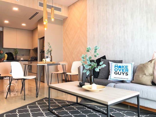 The Elysium Suite@Puteri Cove with car park+WiFi