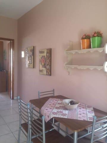 Voula's apartment
