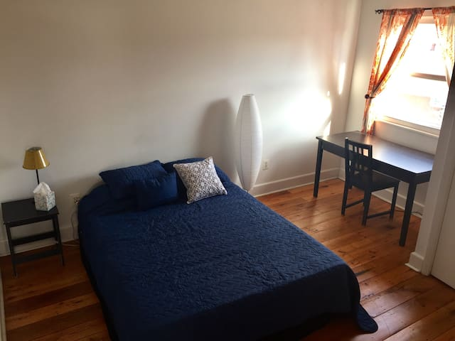 Sunny bright apt. in the heart of Queen's Village - Philadelphia - Apartment