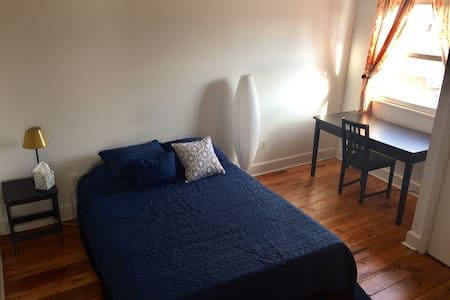 Sunny bright apt. in the heart of Queen's Village - Philadelphia - Lakás