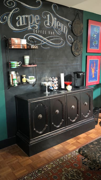 Coffee Bar for guests.