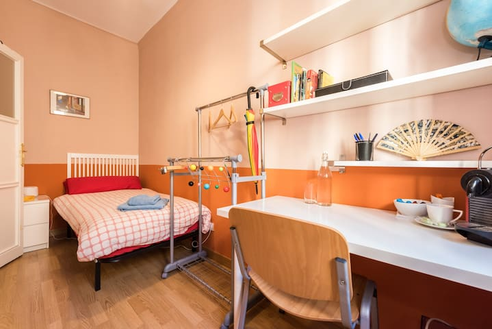 Quiet ensuite room, city center - Madrid - Apartemen