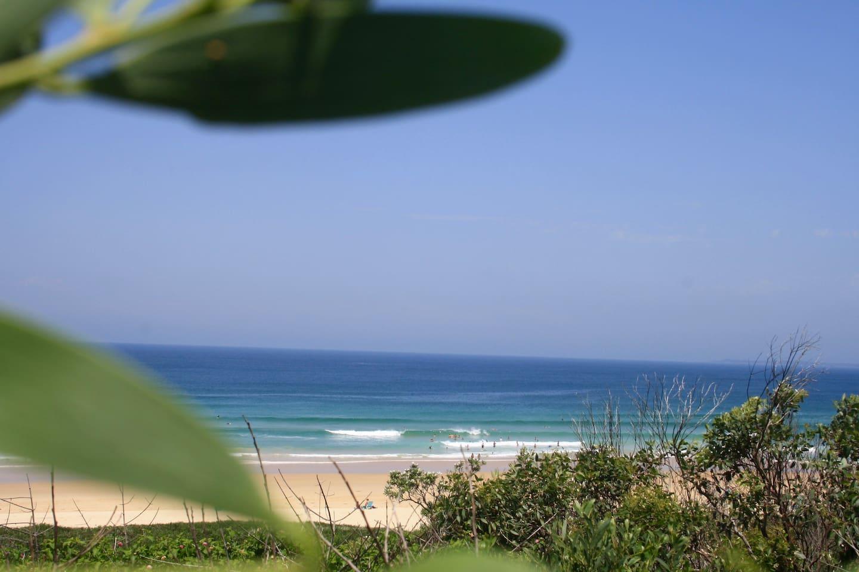 Beautiful patrolled beach