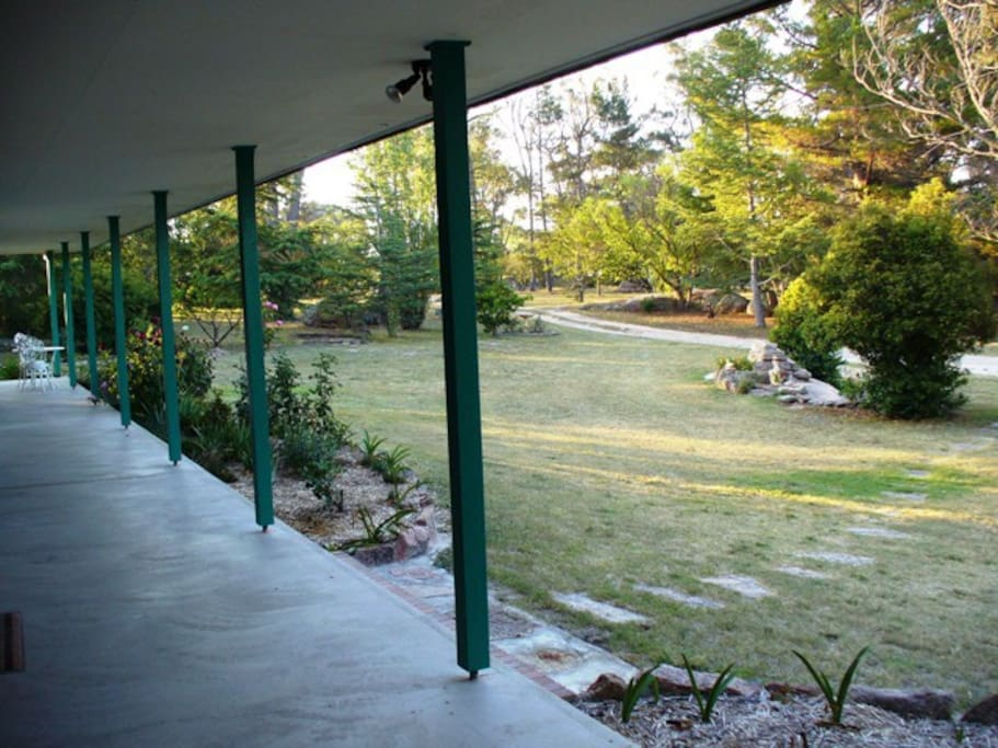 Driveway view from Verandah
