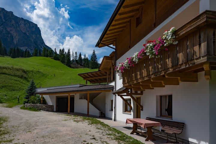 Wohnung mit Blick auf die Berge - Badia - Apartment