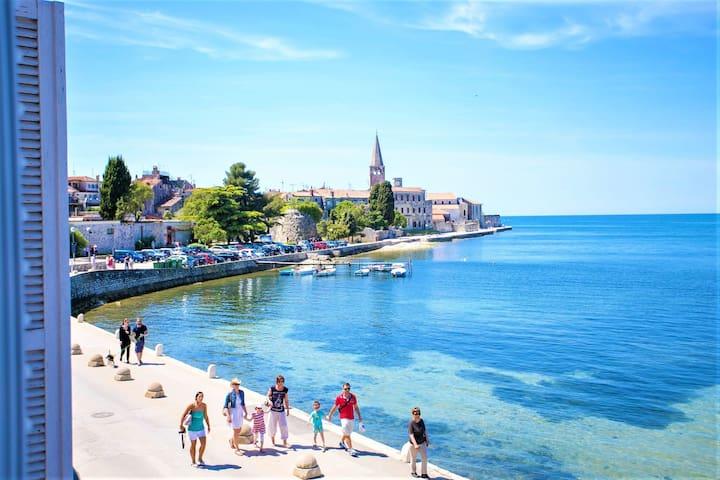 Appartement moderne avec vue sur mer à Porec, Croatie