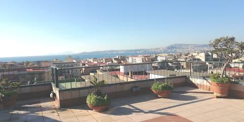 Intero  appartamento panoramico ''girasolearuna''