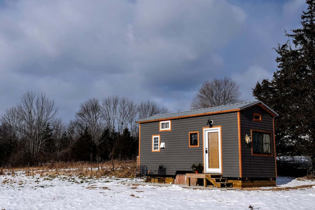 hudson valley tiny house cottages for rent in new paltz