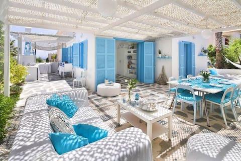 Accessible Protaras Apt with garden (BLUE)