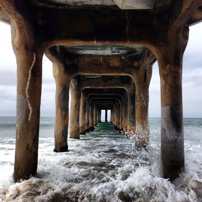 Photo of Manhattan Beach Pier in El Porto