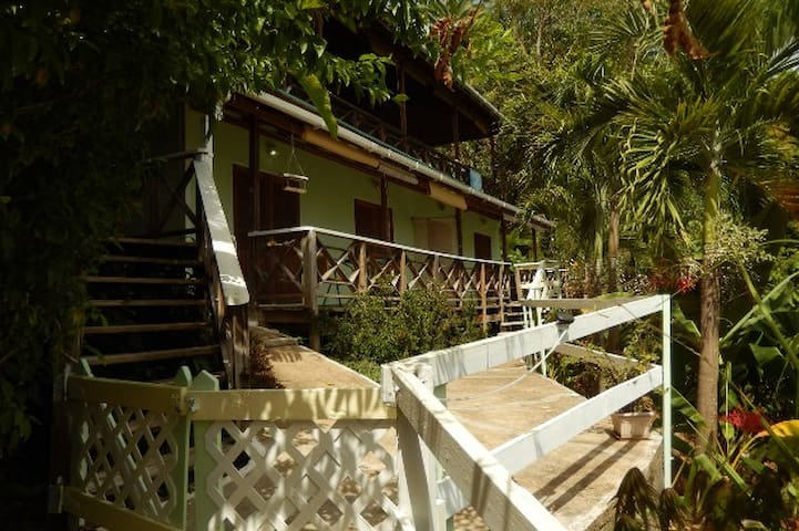 Carpe Diem Villa Castara Tobago Studio2-sea views! - Castara - Byt