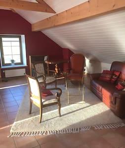 Appartement de charme dans ancienne ferme rénovée