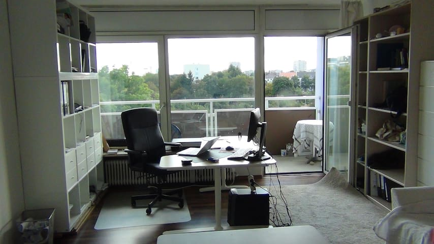 Bright spacey place, 2 rooms * large Balcony - München - Apartment