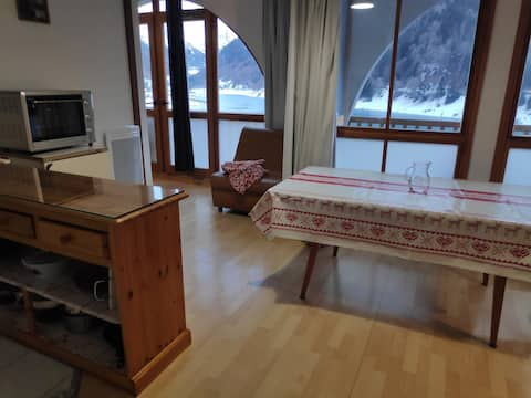 grand appartement 8 places vue sur la montagne