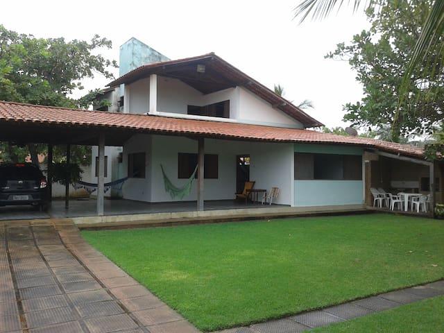 Casa de praia na Lagoa do Pau a 100m do Mar