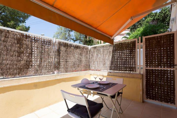 Cozy ground floor with terrace in Cala Mayor - Palma - Apto. en complejo residencial