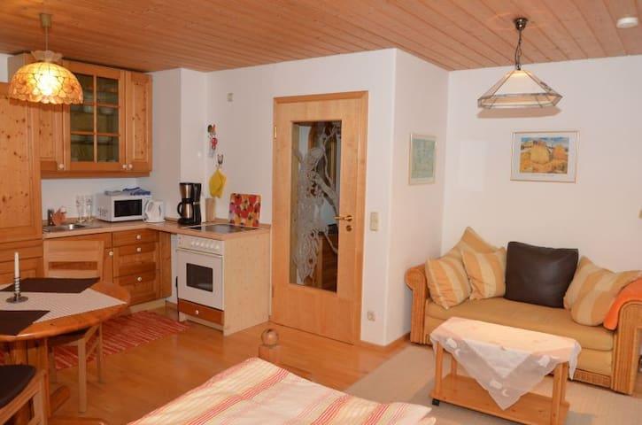 Hochwertiges Appartment mit  Bergblick - Rettenberg - Wohnung