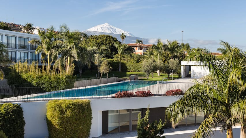 Design apartment with Mount Teide and sea views - Santa Cruz de Tenerife - Apartemen