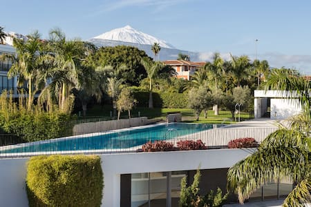 Design apartment with Mount Teide and sea views - Santa Cruz de Tenerife