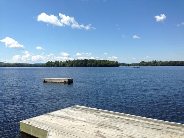 Camp Eagle View. Upper Saranac Lakefront bliss.