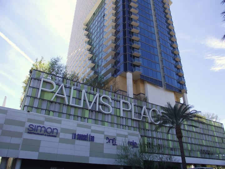 Palms Place Strip 10th floor with private balcony