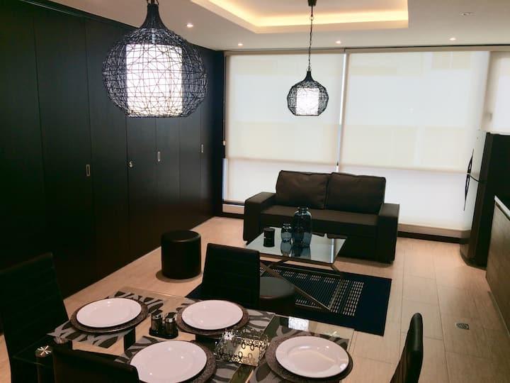 Hermosa Suite en el Centro Financiero de Quito