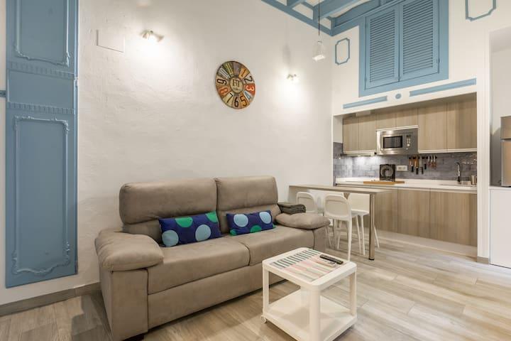 Apartamento en centro Histórico Sevilla.Wifi