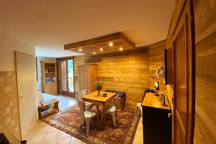 La Clusaz, appartement chaleureux et vue sublime