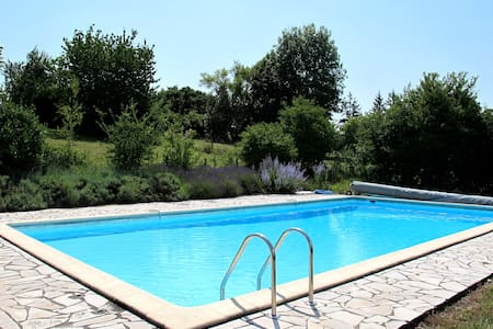 Contemporary villa with shared pool - Saint-Paul-Lizonne - 別荘
