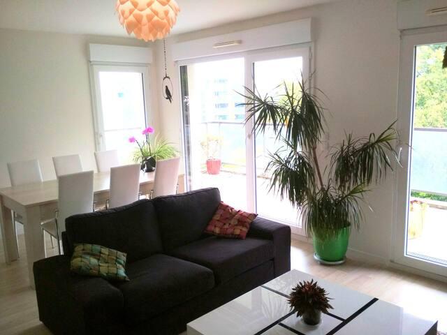 Bel appartement lumineux à Rennes