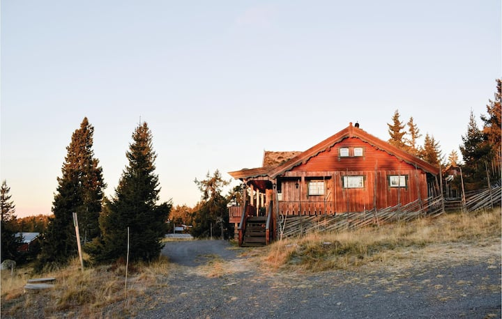 Beautiful home in Sjusjøen with WiFi and 2 Bedrooms