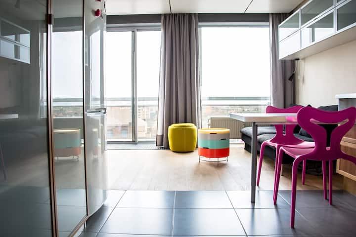Studio 3pl. Médiacité, Liège-Centre