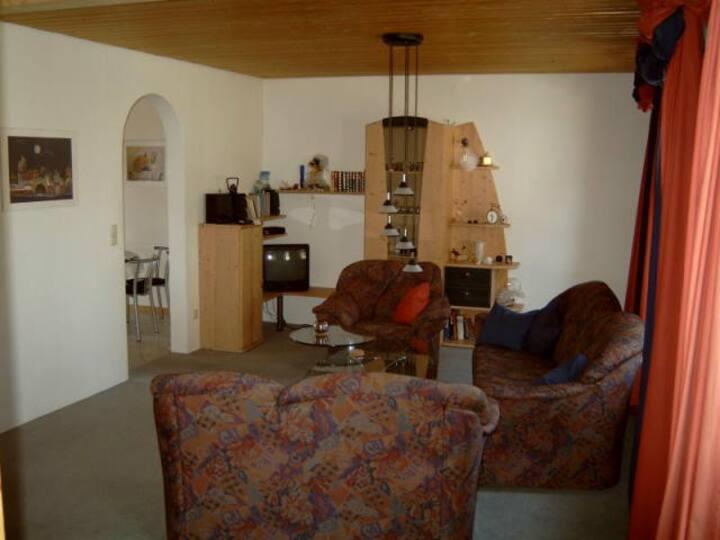 Ferienwohnung Jugl (Schwarzenbach am Wald), Ferienwohnung (92qm) mit Balkon und Küche