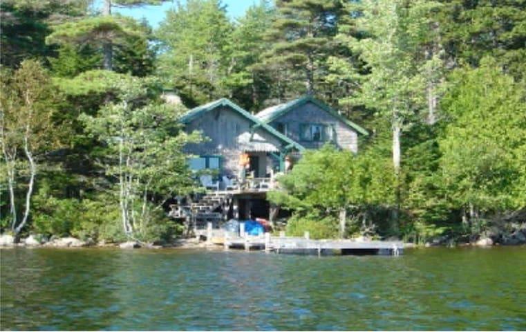 Camp Ripples lake cottage.