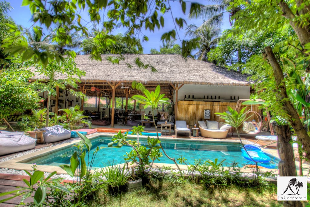 In La Cocoteraie, you'll find a peaceful island oasis with a difference