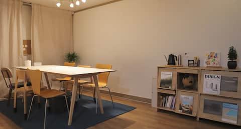 Dayout stay/Halaman luas/Penggunaan penuh rumah lantai dua