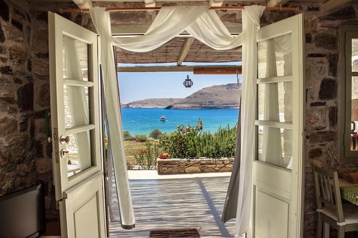 Serifos dream house 1 near the sea Ganema