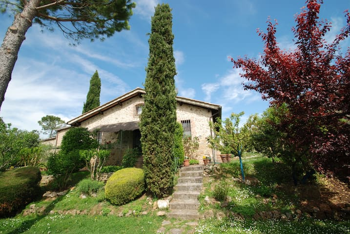 Charming country house 10km from Siena