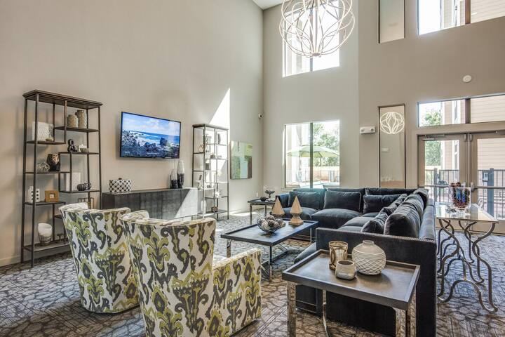 Luxury Downtown/Med. Center Apartment
