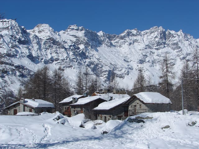 Chalet Duc Matterhon region CAV Champlève - Valtournenche - Casa